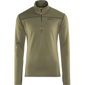 Craft Pin Halfzip Pullover Men dk olive/black